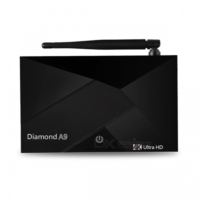OURSPOP diamanter amlogic S912 okta-core TV-box w / 2GB DDR3, 16GB ROM