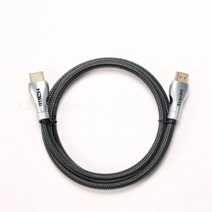 Remax RC-038H 4K HDMI cable de conexión de audio y video digital - negro (1m)