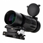 303 Tactical 3x Flip to Side Barlow Lens for 20mm Telescope - Black