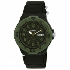 Casio MRW-200HB-1BVDF Analogue Quartz Watch- Black+Green (Without Box)