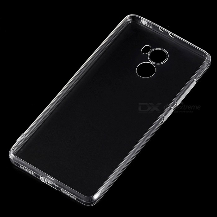 ASLING TPU Ultrathin Transparent Soft Case for Redmi 4 - Transparent