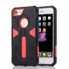 "Disassembly Protective PC + TPU Case for IPHONE 7 4.7"" - Red  + Black"