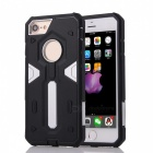 "Disassembly PC + TPU Back Case for IPHONE 7 4.7"" - Silver + Black"