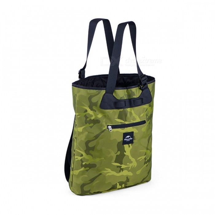 NatureHike Travel Sport Bag Small Running Backpack - Camouflage (15L)Form  ColorGreen CamouflageBrandNatureHikeModelNH16Y015-TQuantity1 DX.PCM.Model.AttributeModel.UnitMaterialNylonTypeHiking &amp; CampingGear Capacity15 DX.PCM.Model.AttributeModel.UnitCapacity Range0L~20LFrame TypeFramelessNumber of exterior pockets1Raincover includedNoBest UseClimbing,Family &amp; car camping,Mountaineering,Travel,Cycling,FishingTypeHiking DaypacksWarranty1Packing List1 * Bag<br>