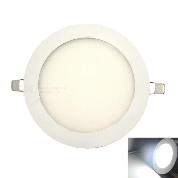 Ultra-thin 75-LED 2835SMD Cold White Embedded Ceiling LightCeiling Light<br>Form  ColorWhiteColor BINCool WhiteModelUltra-thin 15WQuantity1 DX.PCM.Model.AttributeModel.UnitMaterialAluminum + high-transparent acrylicPowerOthers,15WRated VoltageAC 85-265 DX.PCM.Model.AttributeModel.UnitChip BrandOthersEmitter TypeOthers,2835 SMDTotal Emitters75Theoretical Lumens1250 DX.PCM.Model.AttributeModel.UnitActual Lumens1200-1250 DX.PCM.Model.AttributeModel.UnitColor Temperature12000K,Others,6000-6500KDimmableNoBeam Angle180 DX.PCM.Model.AttributeModel.UnitExternal Diameter190 DX.PCM.Model.AttributeModel.UnitHole diameter170 DX.PCM.Model.AttributeModel.UnitHeight2 DX.PCM.Model.AttributeModel.UnitPacking List1 * Ceiling light 1 * Transformer<br>