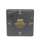 BSTUO 4K * 2K Ultra HD HDMI Splitter Switcher - Black