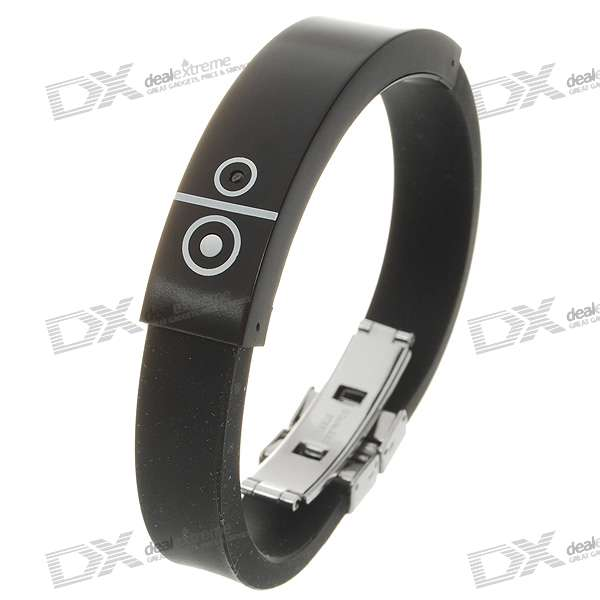 bluetooth v1 2 incoming call vibrate alert bracelet black 60 hour standby free shipping. Black Bedroom Furniture Sets. Home Design Ideas