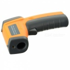 "BLCR 1.2"" LCD Infrared Temperature Tester Thermometer - Orange"