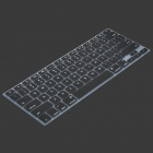 Silicone Keyboard Protective Cover for Apple Macbook - Black