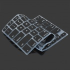 Teclado de silicone capa protetora para Apple Macbook - Black
