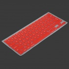 Silicone Keyboard Protective Cover for Apple Macbook - Red