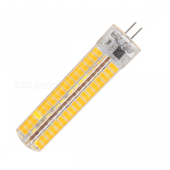 YWXLight Dimmable G4 7W 136-LED Silicone Warm White Lamp (AC 110V)G4<br>Color BINWarm WhiteMaterialSiliconeForm  ColorWhite + Yellow + Multi-ColoredQuantity1 DX.PCM.Model.AttributeModel.UnitPowerOthers,7WRated VoltageAC 110 DX.PCM.Model.AttributeModel.UnitConnector TypeG4Chip Type5730Emitter TypeLEDTotal Emitters136Theoretical Lumens5000 DX.PCM.Model.AttributeModel.UnitActual Lumens1200~1400 DX.PCM.Model.AttributeModel.UnitColor Temperature3000KDimmableYesBeam Angle360 DX.PCM.Model.AttributeModel.UnitPacking List1 * Lamp<br>