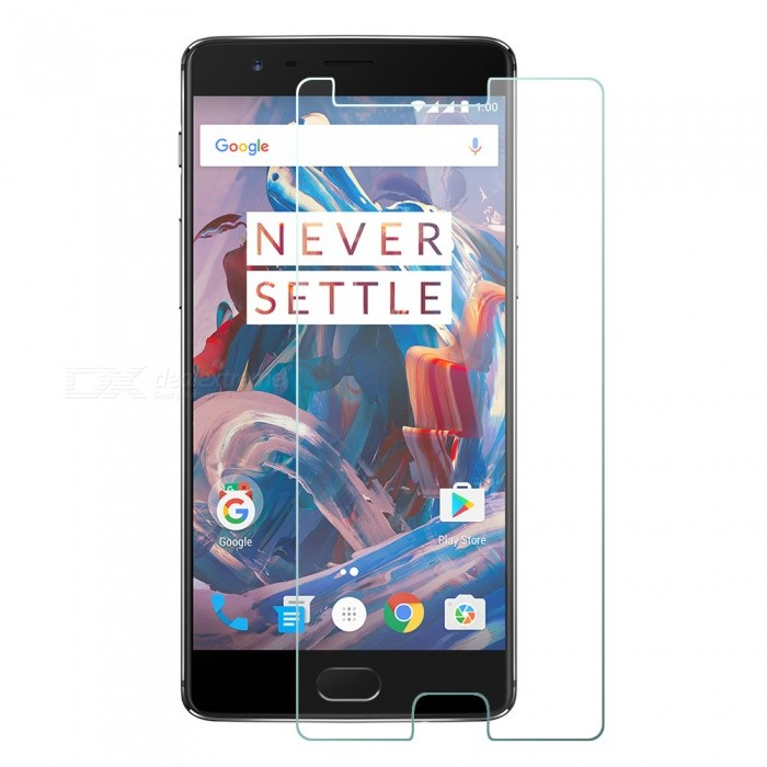 Mr.northjoe 9H 2.5D 0.3mm Tempered Glass Film for OnePlus 3