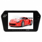 "KELIMA 7"" Bluetooth Monitor + 4-LED Reverse Camera Rearview Mirror"