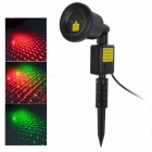 Marsing Red & Green Light Dynamic Outdoor Starry Sky Laser Light