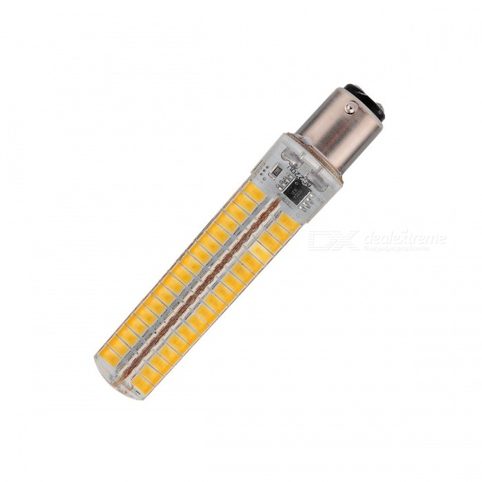 YWXLight Dimmable BA15d SMD 5730 Warm White Silica Gel Corn Bulb LampOther Connector Bulbs<br>Color BINWarm WhiteMaterialSilica gelForm  ColorWhite + Yellow + Multi-ColoredQuantity1 DX.PCM.Model.AttributeModel.UnitPowerOthers,7WRated VoltageAC 220 DX.PCM.Model.AttributeModel.UnitConnector TypeOthers,BA15dChip Type5730Emitter TypeLEDTotal Emitters136Theoretical Lumens5000 DX.PCM.Model.AttributeModel.UnitActual Lumens1200-1400 DX.PCM.Model.AttributeModel.UnitColor Temperature3000KDimmableYesBeam Angle360 DX.PCM.Model.AttributeModel.UnitPacking List1 * Corn Bulb Lamp<br>