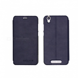 OCUBE PU Leather Case for Cubot Manito Mobile Phone - Dark Blue