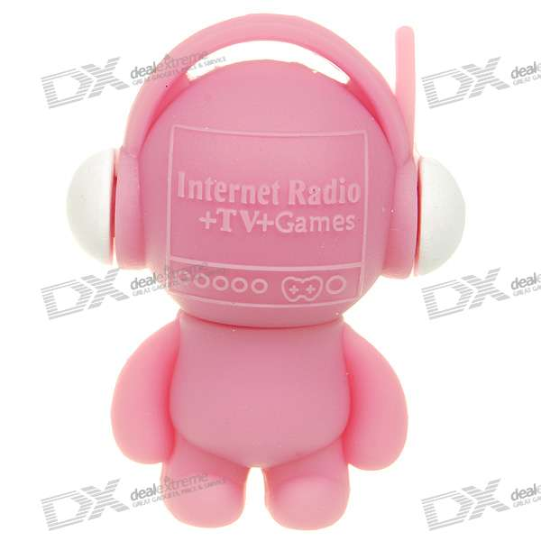 usb all in one internet tv radio game dongle for pc laptop pink free shipping dealextreme. Black Bedroom Furniture Sets. Home Design Ideas