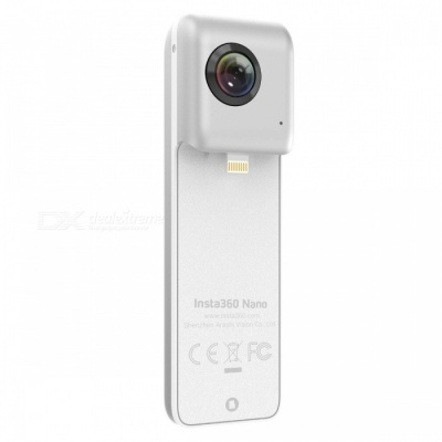 Insta360 Nano 360-degree Camera for IPHONE - White