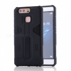 Disassembly Protective PC + TPU Back Case for Huawei P9 - Black