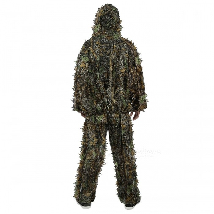 Unisex Camouflage CS Hunting ClothingOther Accessories<br>Form ColorACUQuantity1 DX.PCM.Model.AttributeModel.UnitMaterialPolyesterSizeFree SizePacking List1 * Trouser1 * Jacket<br>