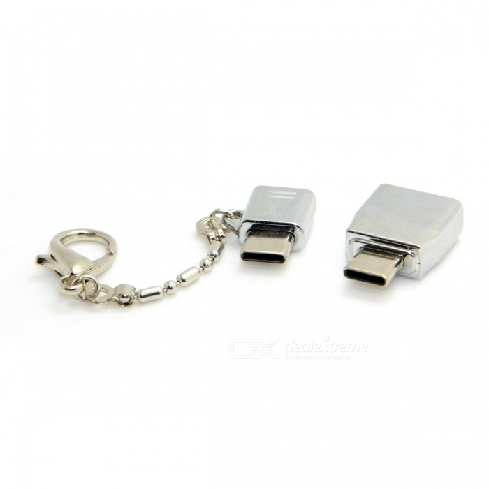 CY U3-375 USB Type-C Male to USB2.0 Female & Micro USB Female Adapter