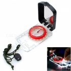 Naturehike Flip-Open Compass w/ Backlight - Black + Transparent