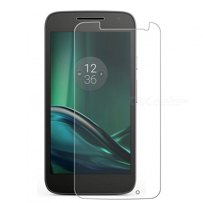 Mr.northjoe Tempered Glass Film for Motorola Moto G4 Play