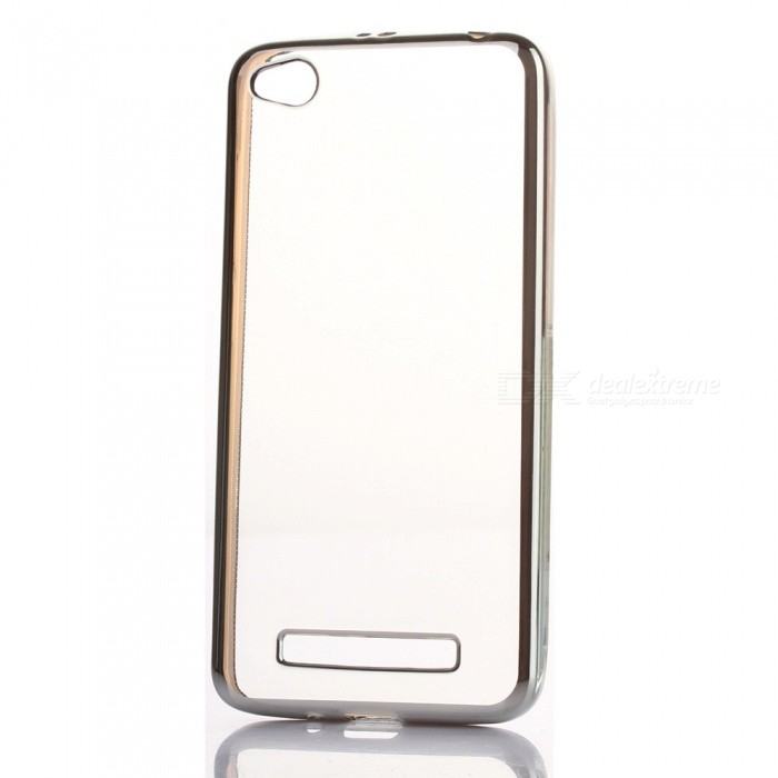 ASLING Ultra Thin Soft TPU Back Case for REDMI 4A - SilverTPU Cases<br>Form ColorSilverModel-MaterialTPUQuantity1 DX.PCM.Model.AttributeModel.UnitShade Of ColorSilverCompatible ModelsRedmi 4APacking List1 * Protective Case<br>