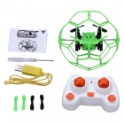 helicmax 1340 2.4GHz 4 CH RC quadcopter lentää pallo w / controller - green