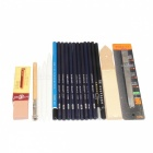 High Quality Sketch Pencils Set for Sketching and Drawing - Black
