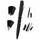 FURA Aircraft-Grade Aluminum Alloy Ball-Point Pen w/ Clip - Black