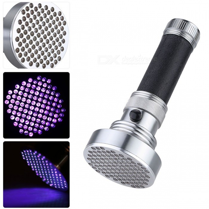 Small Portable Handheld UV Detection Purple Light Flashlight