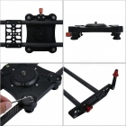 Veledge 80cm Carbon Fiber Slider Rail Track Dolly Video Stabilization