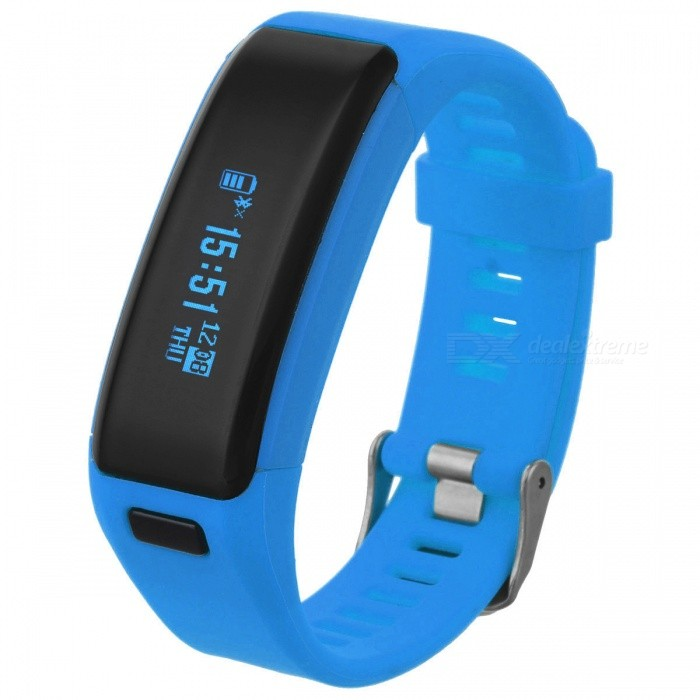 NO.1 F1 0.91 IP68 Smart Bracelet w/ Heart Rate Monitor 230mAh - BlueSmart Bracelets<br>Form  ColorBlueModelF1Quantity1 DX.PCM.Model.AttributeModel.UnitMaterialAluminium alloy + siliconeShade Of ColorBlueWater-proofIP68Bluetooth VersionBluetooth V4.0Touch Screen TypeCapacitive ScreenOperating SystemNoCompatible OSAndroid and IOS SystemBattery Capacity230 DX.PCM.Model.AttributeModel.UnitBattery TypeLi-polymer batteryStandby Time100 DX.PCM.Model.AttributeModel.UnitCertificationCE, RoHsPacking List1 * Smartband F11 * Charging cable1 * Chinese and English user manual<br>