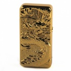 Buy MAIKOU Stainless Steel Double Fire Arc Golden Dragon Lighter -