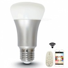 Jiawen E27 7W 24-5730SMD Home Dimmable Light Smart Bulb -Silver +White