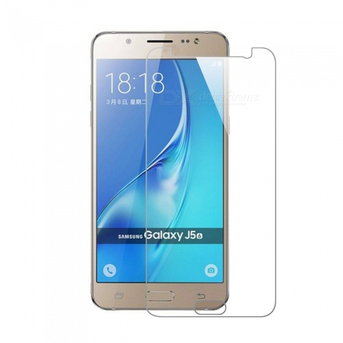 Mr.northjoe Tempered Glass Film for Samsung Galaxy J5 (2016)Screen Protectors<br>Form  ColorTransparentScreen TypeGlossyModel-MaterialGlassQuantity1 DX.PCM.Model.AttributeModel.UnitCompatible ModelsSamsung Galaxy J5 (2016)Packing List1 * Tempered glass screen protector1 * Dust cleaning film 1 * Alcohol prep pad<br>