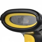 USB2.0 Wired Barcode Scanner for QR, PDF 417, DA TRMA - Black + Yellow