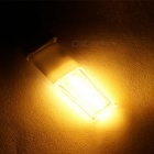 G9 3W COB LED Warm White Light Bulb w/ PC Cover - White + Orange