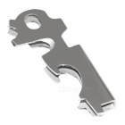 Multi-function Small Key Clip - Silver
