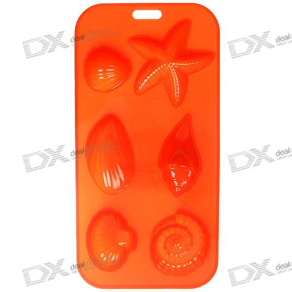 Stylish Non-Toxic Silicone Organic Ice Tray - Red Hybrid Shapes Worcester Цены по объявлению