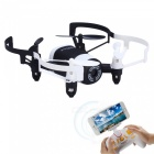 JXD 512DW 2.4GHz Wi-Fi FPV 4-CH Mini RC Quadcopter - Black + White