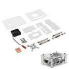 Arcylic Case + Cooling Fan + Copper Heatsink Kits for Orange Pi One