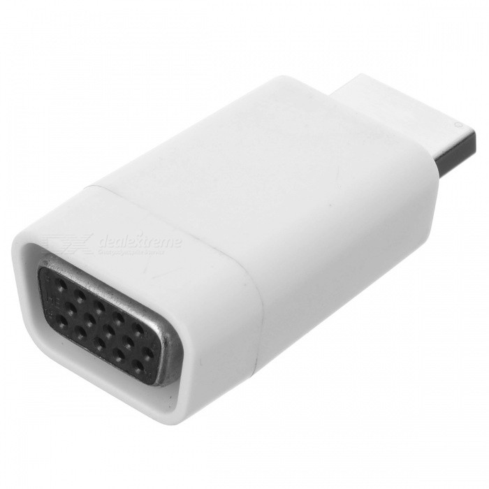 Bstuo abs hdmi male to vga female converter adapter