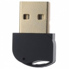 Mini USB Bluetooth V4.0 Dongle Dual Mode Wireless Adapter - Black