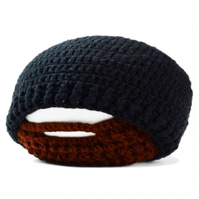 Outdoor Sports Winter Mens Beard Covered Knitted Hat - BlackForm  ColorBlackSizeFree SizeQuantity1 DX.PCM.Model.AttributeModel.UnitMaterialAcrylic fiberShade Of ColorBlackSeasonsAutumn and WinterGenderMensHead Circumference57~60 DX.PCM.Model.AttributeModel.UnitBest UseYoga,Running,Climbing,Mountaineering,Travel,Cycling,FishingSuitable forAdultsPacking List1 * Knitted hat<br>