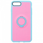 Benks Magnetic Protective Case w/ Ring Stand - Light Blue + Pink