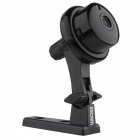 Escam Q6 ONVIF2.4.2 1.0MP mini wireless IP camara - schwarz (Stecker uk)