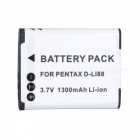 D-LI88 3.7V 700mAh Li-ion Battery for PENTAX Optio P70 Sanyo VPC-CG10